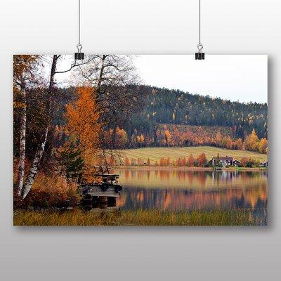 Big Box Art Sweden Landscape No.2 Photographic Print on Canvas