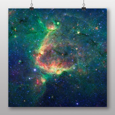 Big Box Art Space Planets No.4 Graphic Art on Canvas
