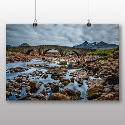 Big Box Art Scotland Landscape No.4 Photographic Print on Canvas