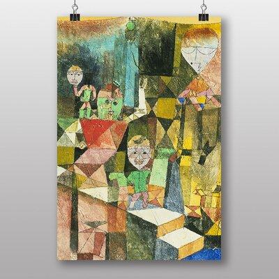 "Big Box Art ""Introducing the Miracle"" by Paul Klee Art Print"