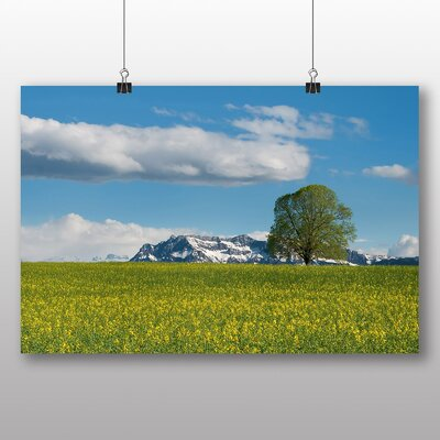 Big Box Art Switzerland Landscape No.5 Photographic Print Wrapped on Canvas