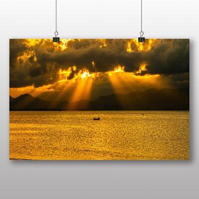 Big Box Art Sun Through the Clouds Photographic Print