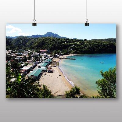 Big Box Art St Lucia Landscape No.2 Photographic Print Wrapped on Canvas