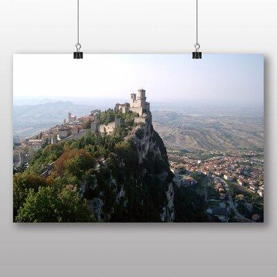 Big Box Art San Marino Italy Photographic Print
