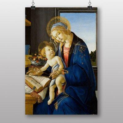 Big Box Art The Virgin and Child by Sandro Botticelli Art Print