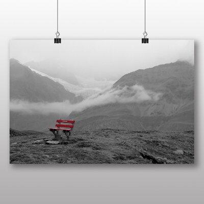 Big Box Art Switzerland Mountains Photographic Print Wrapped on Canvas