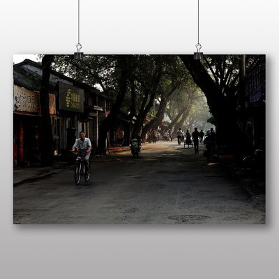 Big Box Art Shanghai China No.2 Photographic Print Wrapped on Canvas