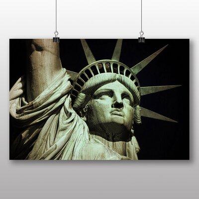 Big Box Art Statue of Liberty New York USA No.5 Photographic Print