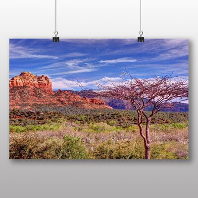 Big Box Art Sedona Arizona Landscape USA Photographic Print