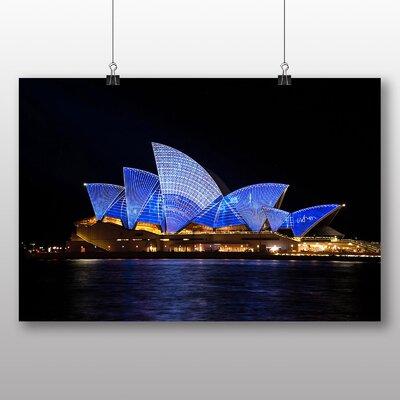 Big Box Art Sydney Opera House Harbour Australia No.5 Photographic Print on Canvas