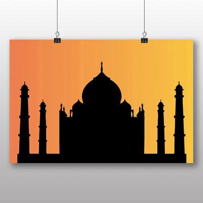 Big Box Art Taj Mahal at Sunset Photographic Print
