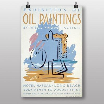 Big Box Art Exhibition No.6 Vintage Advertisement