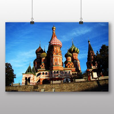 Big Box Art Saint Basils Cathedral Photographic Print