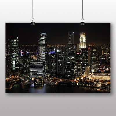 Big Box Art Singapore Skyline No.3 Photographic Print