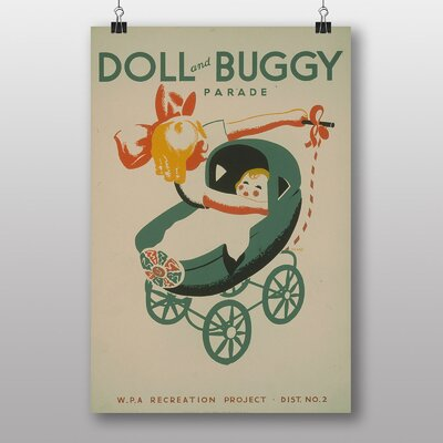 Big Box Art Doll and Buggy Vintage Advertisement
