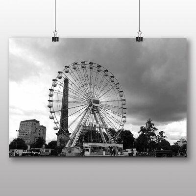 Big Box Art The Big Wheel Glasgow Scotland Photographic Print