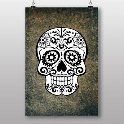 Big Box Art 'Sugar Skull Tattoo No.5' Graphic Art