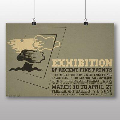Big Box Art Exhibition No.56 Vintage Advertisement