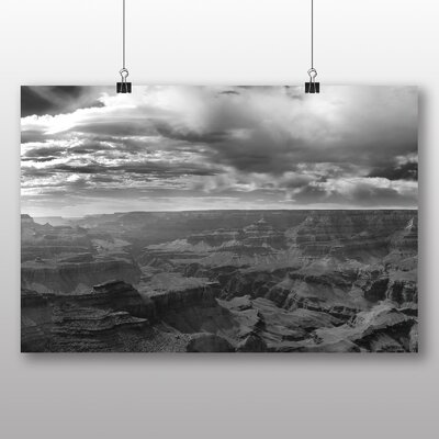 Big Box Art The Grand Canyon No.11 Photographic Print on Canvas