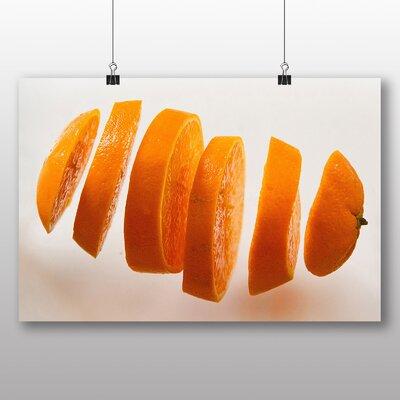 Big Box Art Sliced Orange Photographic Print