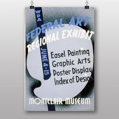 Big Box Art Exhibition No.23 Vintage Advertisement