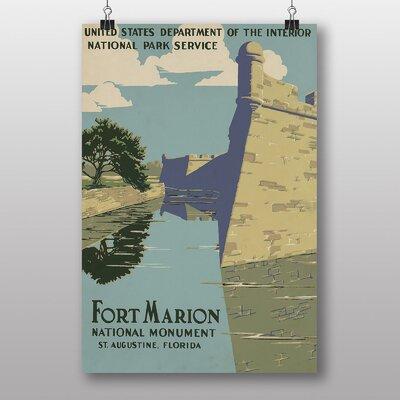 Big Box Art Fort Marion Vintage Advertisement