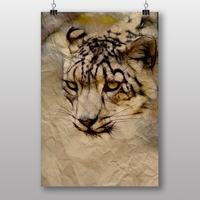 Big Box Art Snow Leopard Graphic Art