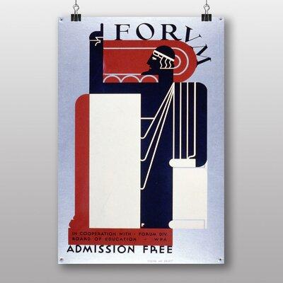 Big Box Art Forvm Vintage Advertisement