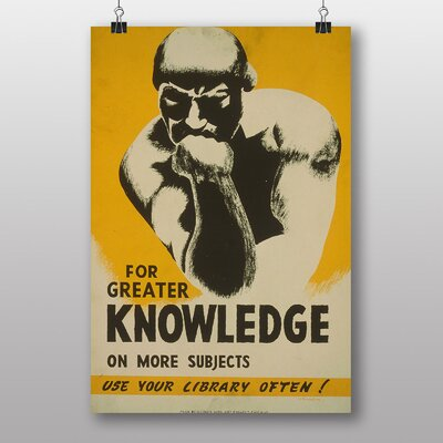 Big Box Art Greater Knowledge Graphic Art