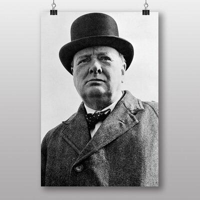 Big Box Art Sir Winston Churchill Memorabilia  Photographic Print on Canvas