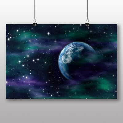 Big Box Art Space Planets No.1 Graphic Art