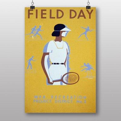 Big Box Art Field Day Vintage Advertisement