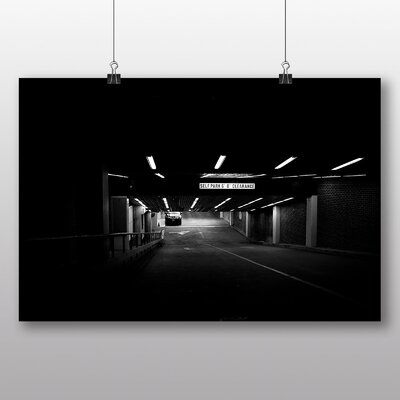Big Box Art 'The Car Park' Photographic Print
