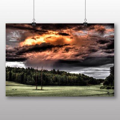 Big Box Art Sky Clouds No.4 Photographic Print on Canvas