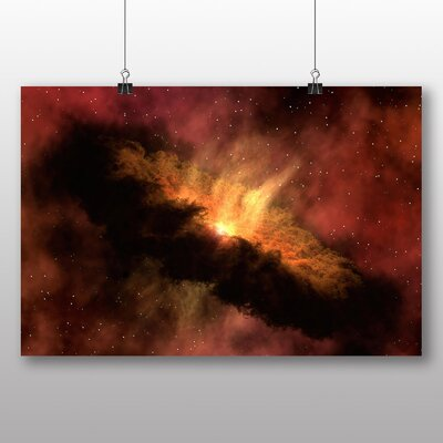 Big Box Art Space Graphic Art Wrapped on Canvas
