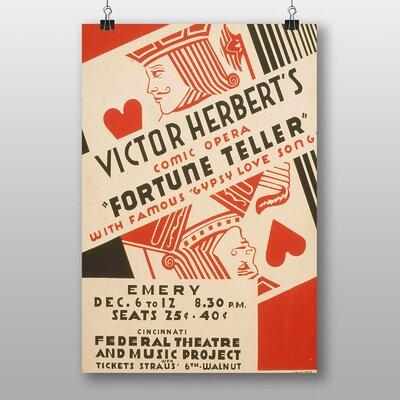 Big Box Art Fortune Teller Vintage Advertisement