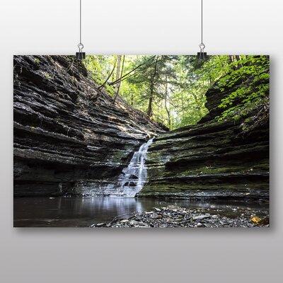 Big Box Art 'Small Waterfall' Photographic Print