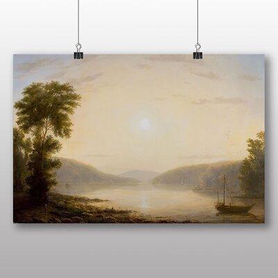 Big Box Art 'Sunrise over the Hoodson River' by Thomas Worthington Whittredge Art Print