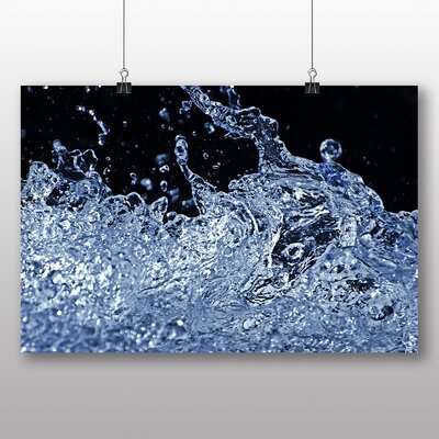 Big Box Art Splash of Water No.4 Graphic Art