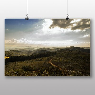 Big Box Art 'The Green Forest No.2' Photographic Print