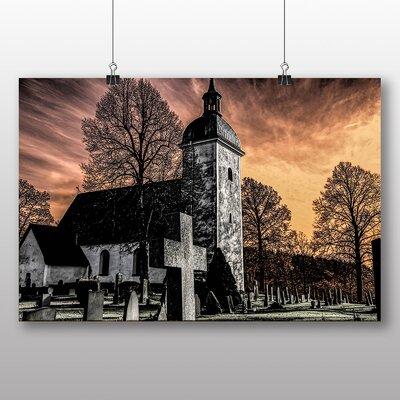 Big Box Art Sweden Landscape No.4 Graphic Art Wrapped on Canvas