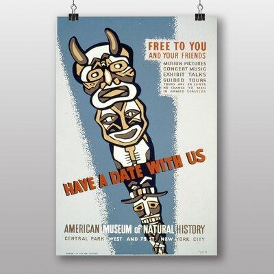 Big Box Art Have a Date Vintage Advertisement
