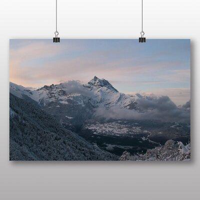 Big Box Art Snowy Mountains Photographic Print