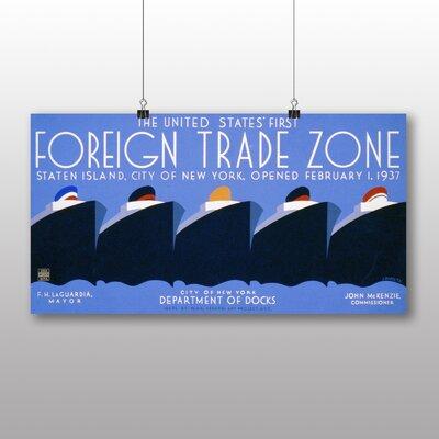 Big Box Art Foreign Trade Zone Vintage Advertisement