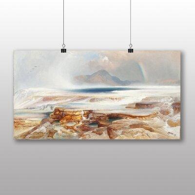 Big Box Art 'Hot Springs of the Yellowstone' by Thomas Moran Art Print