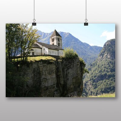 Big Box Art Switzerland Landscape No.7 Photographic Print Wrapped on Canvas