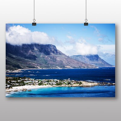 Big Box Art South Africa Cape Town Table Mountain Photographic Print on Canvas