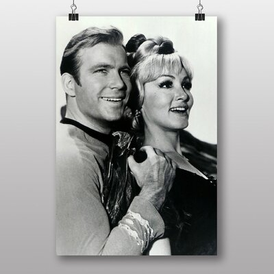 Big Box Art Star Trek Julie Newmar William Shatner Photographic Print