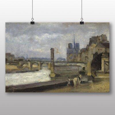 Big Box Art 'Tournelle Paris' by Stanislas Lepine Art Print