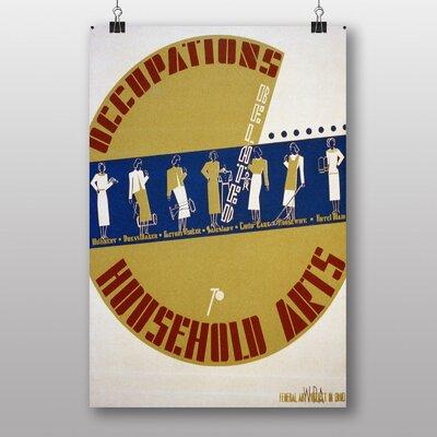 Big Box Art Household Arts No.2 Vintage Advertisement